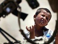 Her beş çocuktan biri savaş bölgesinde yaşıyor