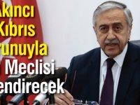 Akıncı Kıbrıs sorunuyla ilgili Meclisi bilgilendirecek