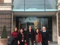 KKTC Londra Büyükelçisi, Kıbrıslı Türk Öğretim Üyelerini Ziyaret Etti