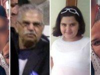 'Aile katliamı'nda babaya çifte müebbet ve 15 yıl hapis