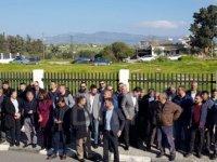 İskele Eski Kaymakamı Yılmaz'a destek için toplandılar