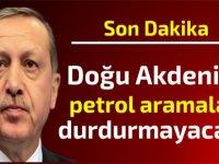 Erdoğan'dan  Doğu Akdeniz'de petrol aramalarına dair önemli açıklama