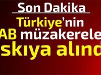 AP:Türkiye'nin AB'ye girmesini askıya aldı