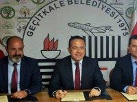 Tarım Bakanlığı ile Geçitkale Belediyesi arasında protokol imzalandı
