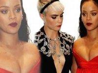 Cara Delevingne, Rihanna'nın doğum gününü ilginç fotoğraflarla kutladı