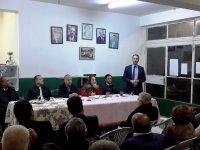 CTP Akçay'da halkla buluştu, toplantıya bakanlar da katıldı