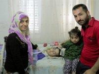 Lefkoşa'da yaşayan SMA hastası Davut yaşamak için yetkililerden yardım bekliyor