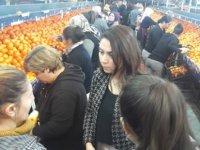 Halkın Partisi Güzelyurt'ta ziyaretlerde bulundu