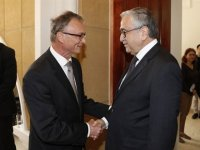 Akıncı, Slovakya Büyükelçiliği resepsiyonuna katıldı