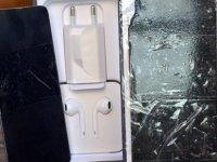 Metal parçasını kesip, cep telefonu diye sattı
