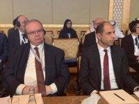 Özersay Abu Dhabı'de İİT Dışişleri Bakanları konsey toplantısı'nda…