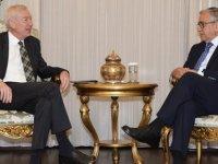 Akıncı, Almanya'nın Lefkoşa Büyükelçisi Kremp'i kabul ederek görüştü