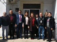Besim, Dikmen Belediyesi ve sağlık ocağını ziyaret etti