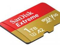 Dünyanın en hızlı microSD kartı sahneye çıktı