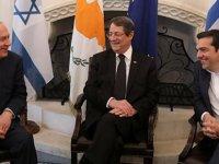 Güney Kıbrıs, Yunanistan, İsrail üçlü görüşmesinin Pompeo'nun da katılımıyla 20 Mart'ta İsrail'de yapılması planlanıyor
