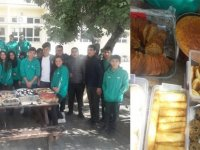 Bekirpaşa Lisesi öğrencileri, Demir Müezzinler için kermes düzenledi