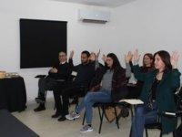 Basın çalışanlarına diksiyon eğitimi verildi