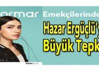 Hazar Ergüçlü'ye Flormar çalışanlarından tepki