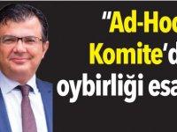 """""""Ad-Hoc  Komite'de oybirliği esastır"""""""