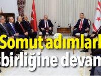 """""""Somut adımlarla işbirliğine devam"""""""