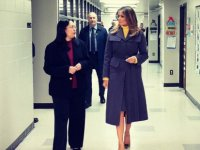 Melania Trump, Gülen'e ait okulu ziyaret etti