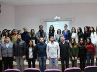 DAÜ 7. Uluslararasi Kariyer Günleri kapsaminda Sağlik Bilimleri Fakültesi'nde seminer gerçekleşti