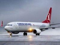 THY uçağı Ercan'da arıza yaptı!