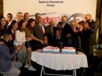 """TDP: """"Gelenekten Geleceğe 43 Yıl""""ı resepsiyonla kutladı"""