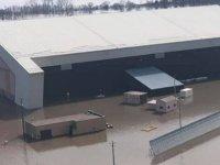 ABD'nin 'kıyamet günü' uçaklarının bulunduğu hava üssü sular altında kaldı