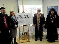 Kıbrıs'ta dinler arası diyalog devam ediyor, bir araya geldiler