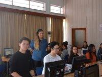 Karpaz Meslek Lisesi öğrencileri DAÜ-BTYO'yu ziyaret etti
