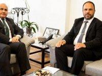 İskele Belediye Başkanı Hasan Sadıkoğlu'ndan Büyükelçi'ye teşekkür ziyareti