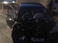 Lefkoşa'da kaza ! Dikkatsizlik kazayı getirdi