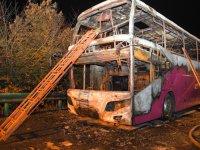 Çin'de yolcu otobüsü yandı: 26 kişi yaşamını yitirdi
