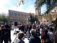 """""""Faşizme ve Irkçılığa Karşı Uluslararası Eylem Günü""""nde iki toplumlu eylem"""