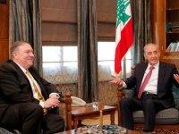 ABD Dışişleri Bakanı'yla görüşen Lübnan meclis başkanından Hizbullah yaptırımlarına tepki