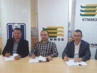 İnşaat Mühendisleri Odası ve Yerbilim Mühendisleri Odası, işbirliği protokolü imzaladı.