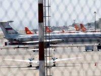 'Rus askerleri taşıyan iki uçak Venezuela'ya geldi'
