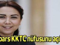 Baybars KKTC nüfusunu açıkladı