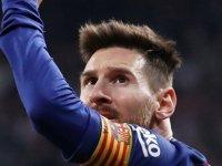 Barcelona tarihinin en iyi golünü Messi attı