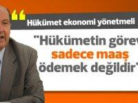 Tatar: Yeni hükümet konusunu görüşebileceklerini söyledi