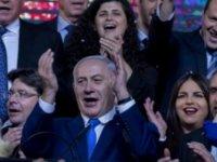 İsrail'de seçimleri Netanyahu kazandı: Trump bayraklarıyla kutlandı