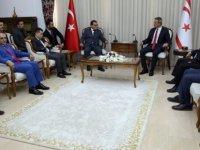 Uluçay, Arap Sanayici İşadamları İhracatı,İthaalatı Geliştirme Federasyonu Heyetini Kabul Etti