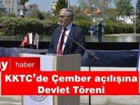 KKTC de çember açılışına devlet töreni