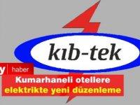 Kumarhaneli Otellerde elektrik için yeni düzenleme