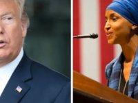 Trump ve New York Post İlhan Omar'ı hedef gösterdi; ABD Başkanı'na tepki yağdı