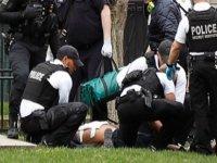 Beyaz Saray önünde kendini ateşe veren kişi yaralandı