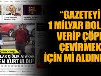 Fatih Altaylı'dan Hürriyet'e: Bari bundan sonra adınıza 'gazete' demeyin
