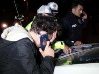 'Duble' yaptılar: Alkollü yakalanan sürücünün aracı teslim etmek için çağırdığı arkadaşı da alkollü çıktı