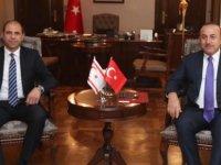 TC Dışişleri Bakanı Çavuşoğlu İle Özersay Görüştü